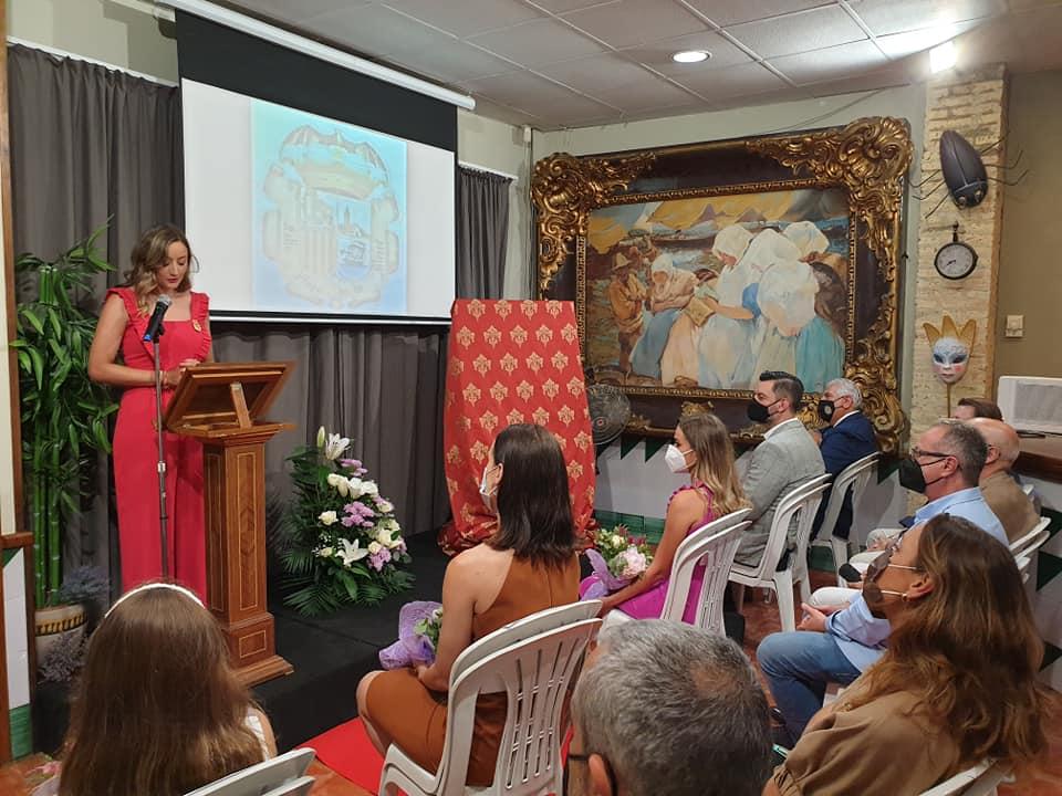 Rocio Gil fue la presentadopra del acto Foto: La Comisión