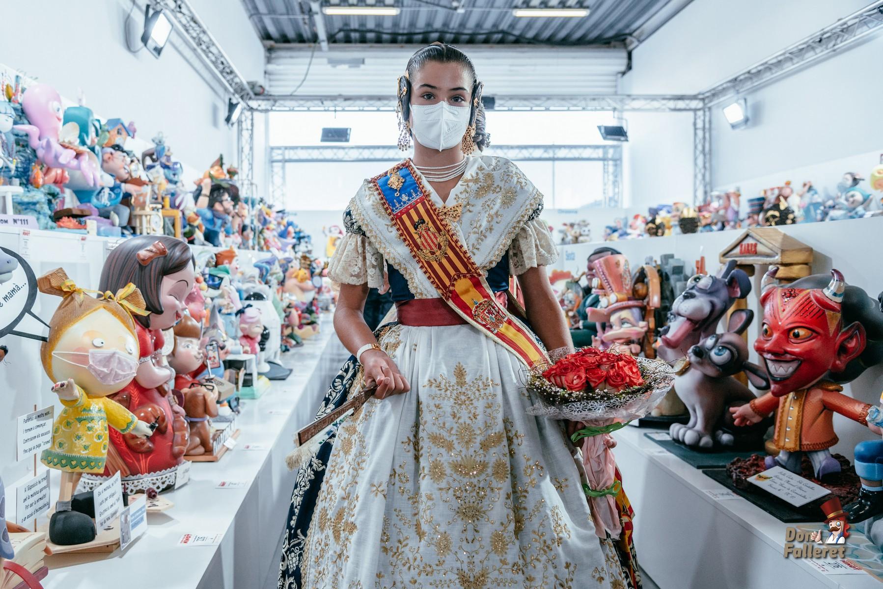 Momento de la Inauguración de la Exposición del Ninot 2021 Foto: Fran Adlert/Don Falleret