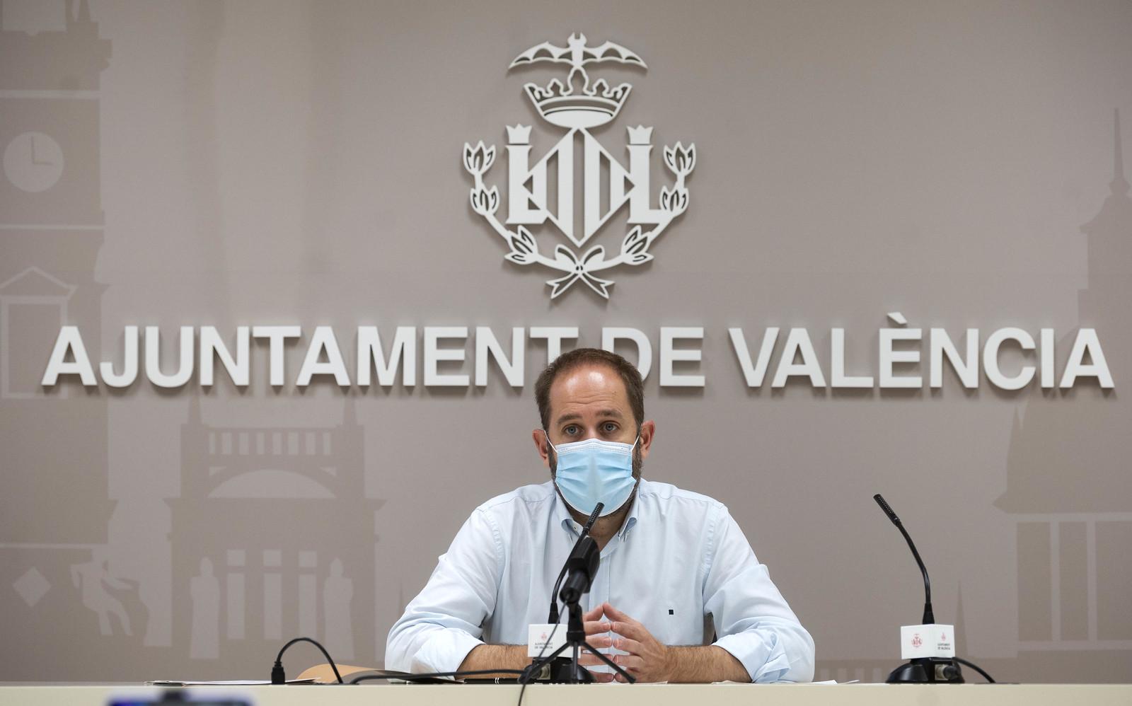 El concejal de Protección Ciudadana, Aarón Cano