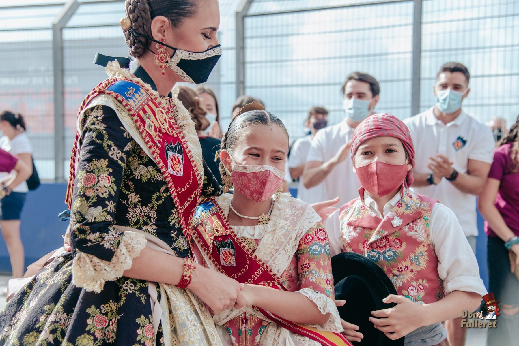 La alegría de Carla, Aisha y Nico  Foto: Fran Adlert