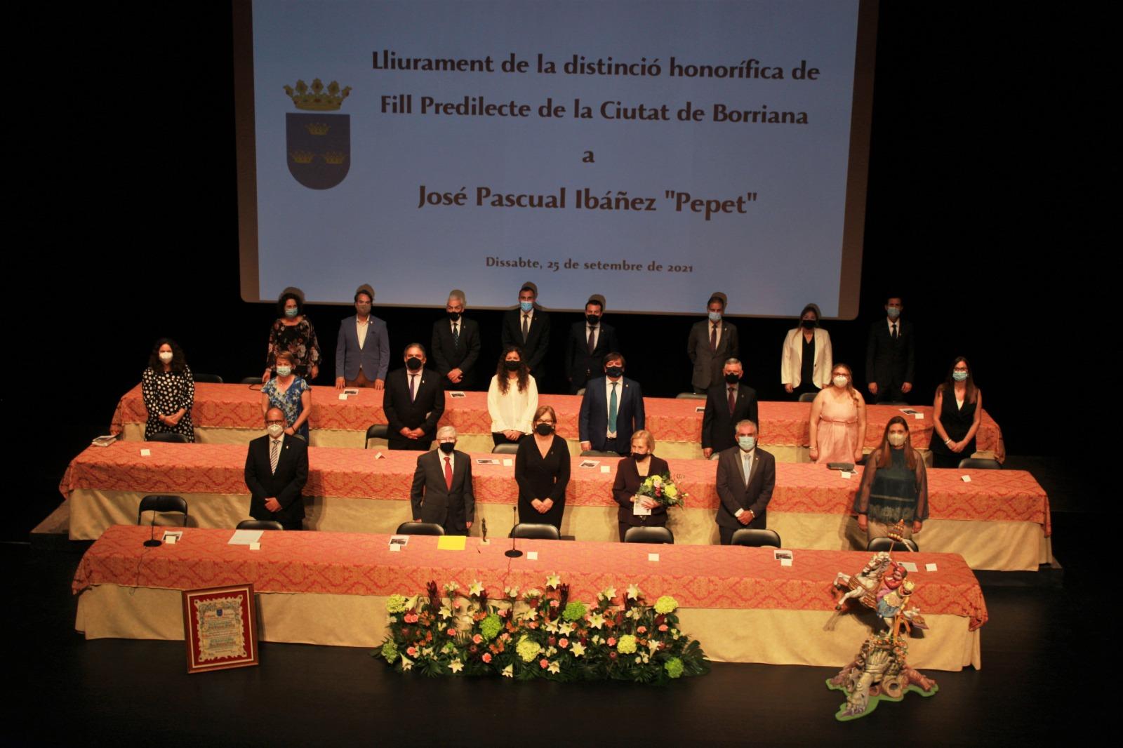 Celebración del pleno extraordinario del Ayuntamiento de Burriana